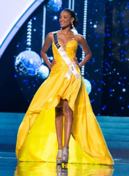 Miss Namibia 2012 @ Miss Universe 2012 in Las Vegas, USA. The evening ...: www.cobusmoller.com/media-4