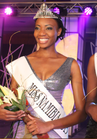 Miss Namibia 2013 - Crowning Gowns
